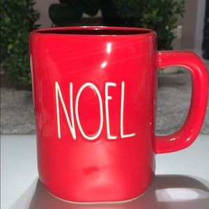 Rae Dunn Noel Red Mugs New 2019 1